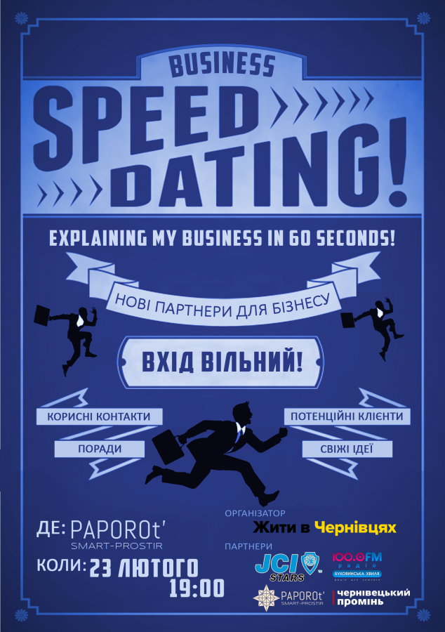 Speed Dating Business Edition