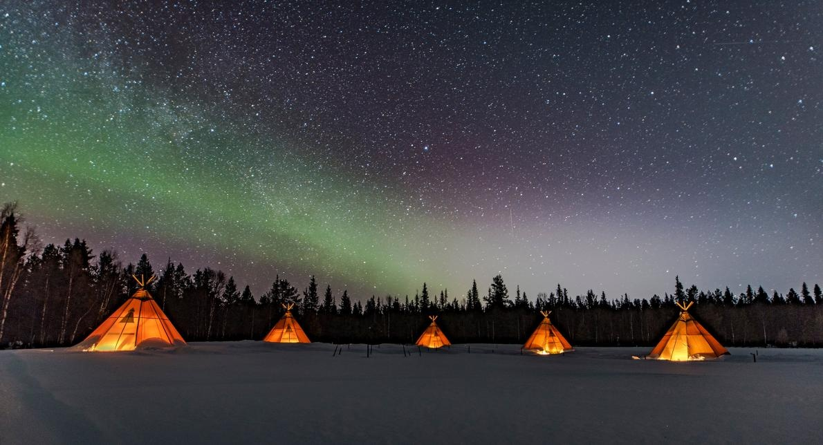 Sapmi Nature Camp, Швеция