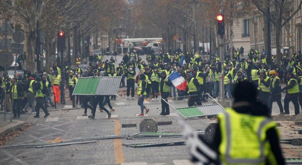 protest france